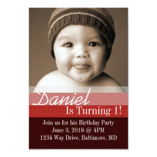 Birthday Party Invite | B-Day I |dbrre