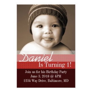 Birthday Party Invite | B-Day I |dbrre