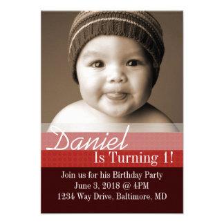 Birthday Party Invite B-Day I dbrre