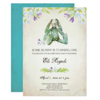 Birthday Party Invite ~ Bunny Invitation