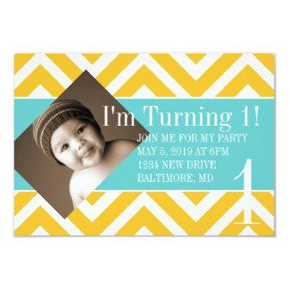 Birthday Party Invite | Turning |chevyel