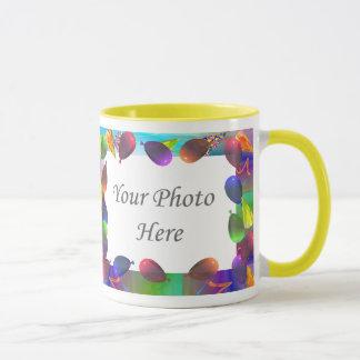 Birthday Party Life 2-Photo Frame Mug