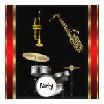 Birthday Party Music Dance Invitation