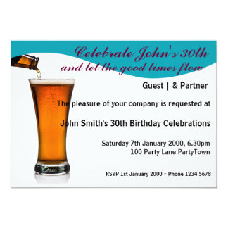 Birthday Party Personalized Personalized Invite