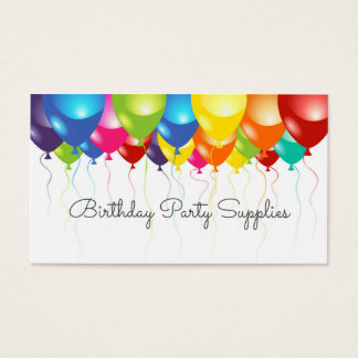 209 balloon business cards and balloon business card for Balloon decoration business