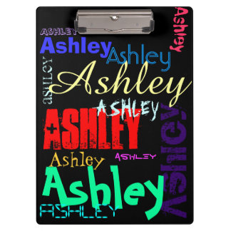 Birthday Personalized repeating name Clipboard