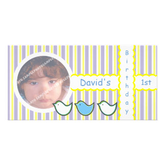 Birthday Photo Cards