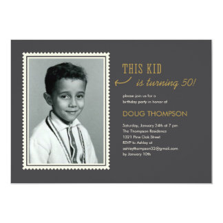 Browse Zazzle 50th Birthday invitation templates and customise with your own text, photos or designs.