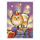 Birthday Pomeranian Card