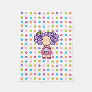 Birthday Princess Fleece Blanket