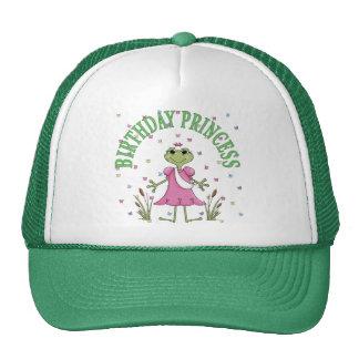 Birthday Princess Frog Cap