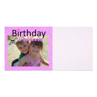 Birthday Princess Photo Cards