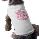 Birthday Princess - Pink - Sleeveless Dog Shirt