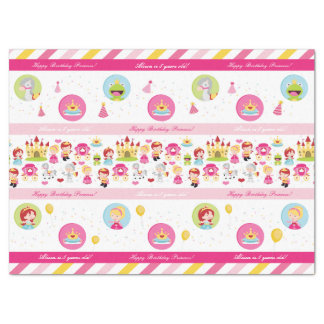 Birthday Princess Tissue Paper