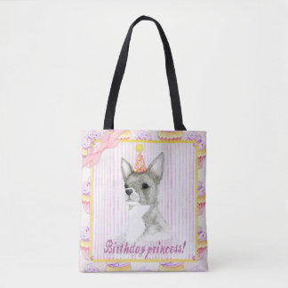 Birthday Princess Tote Bag