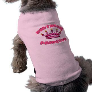 Birthday Princess with Crown Shirt