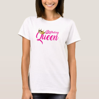 Birthday Queen Women's Basic T-Shirt