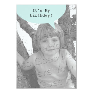 Birthday Quote Bubble Card