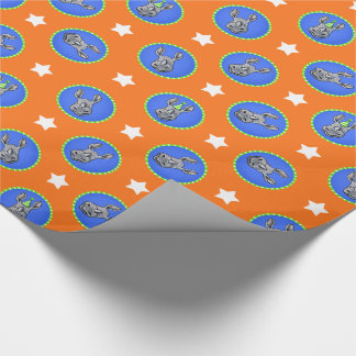 Birthday Rhinos Wrapping Paper