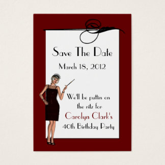 Birthday Save the Date Cards