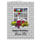 BIRTHDAY - SECRET PAL - OUTSIDE LOOKING IN AT PART CARD