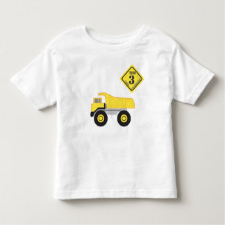 Birthday Shirt - Dump Truck Construction