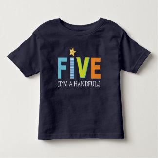 Birthday shirt for five