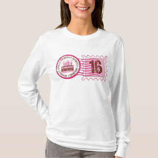 Birthday Stamp 16 T-Shirt