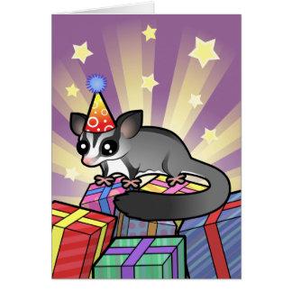 Birthday Sugar Glider Card