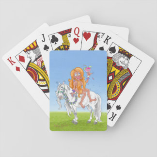 """Birthday Suit"" Playing cards"