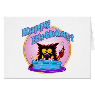 BIRTHDAY SURPRISE GREETING CARD