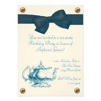 Birthday Tea Party Invitation