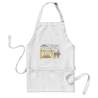 Birthday, the parakeet  way standard apron