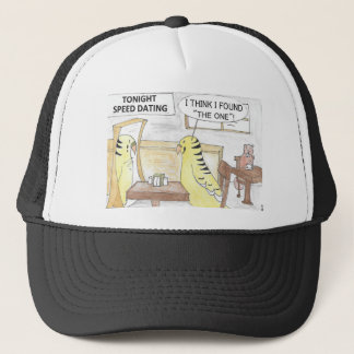 Birthday, the parakeet  way trucker hat