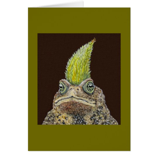 Birthday Toad card