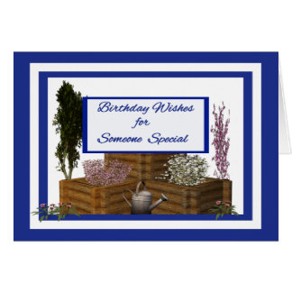 Birthday Wishes For Someone Special Birthday Card