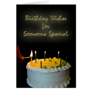 Birthday Wishes For Someone Special Greeting Card