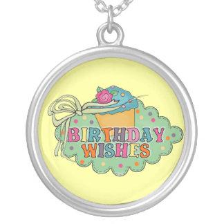 Birthday Wishes Custom Necklace