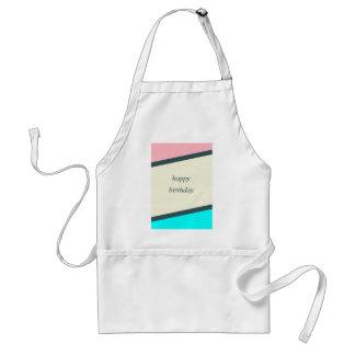 birthday wishes standard apron