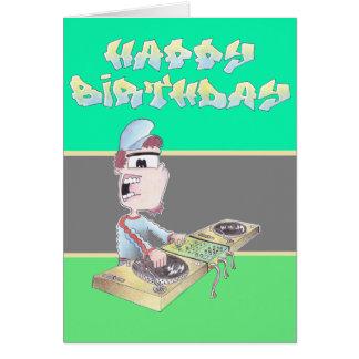 BIRTHDAYcard spangleMASSIVE I TOONS Card