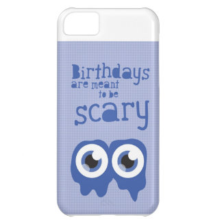 Birthdays are meant to be scary! iPhone 5C case