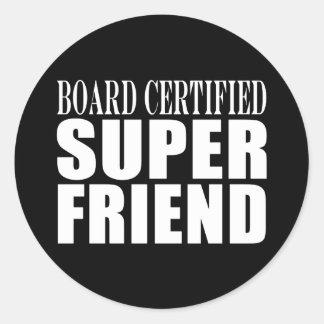 Birthdays Christmas Parties : Super Friend Stickers