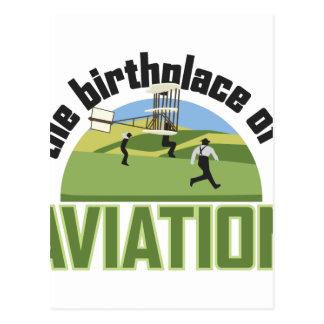 Birthplace of Aviation Postcard