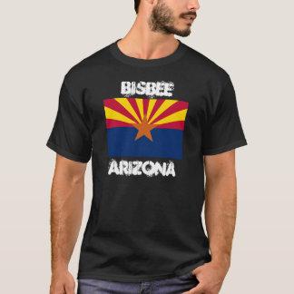 Bisbee, Arizona with Arizona State Flag T-Shirt