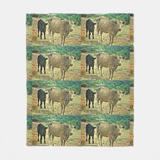 Bisbee Cows Fleece Blanket
