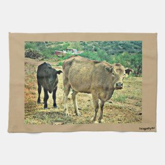 Bisbee Cows Kitchen Towel
