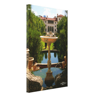 Biscay Museum & Garden Miami, FL. Stretched Canvas Print