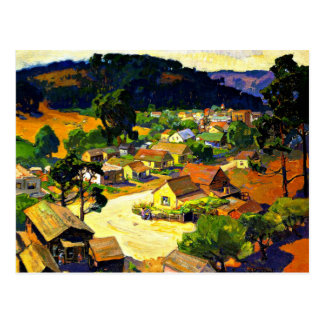 Bischoff - Cambria, a Peaceful California Town Postcard