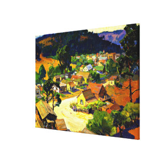Bischoff - Cambria, a Peaceful California Village Canvas Print