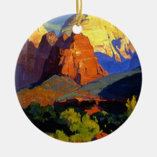 Bischoff - Zion Park Ceramic Ornament
